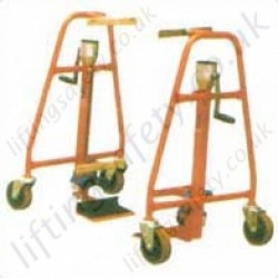 Manual Load Mover, Jack and Skate combination. - Load Capacity 600kg (Per Pair)