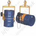 "Economy Imported Overhead Crane Mounted ""Geared Rotation"" Drum Lifter and Rotator - 364kg Capacity"