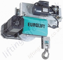 Electric Chain Hoist designed for use in the food indusrty (belt driven)