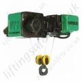 "Verlinde ""Eurobloc VTS"" Short Headroom Monorail Overhead Crane Hoist - Range from 800kg to 12000kg"