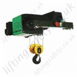 Verlinde Double Girder Wire Hoist (crab unit)