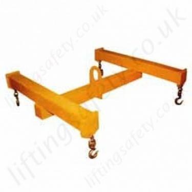 4 Point Lifting Beam, Capacities and Sizes To Your