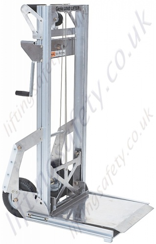 Load Lifter with Pneumatic Tyres