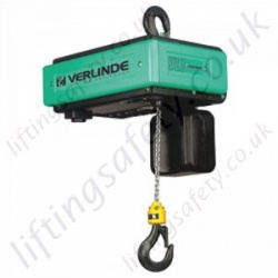 Verlinde VL Stepless Variable Lifting Speed Stepless Chain Hoist - Range from 500kg to 7500kg