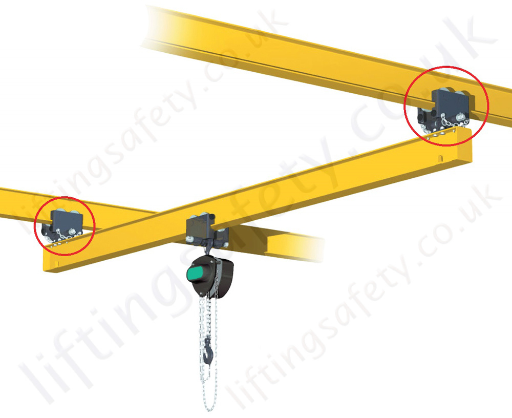 Electromagnetic Overhead Crane Equipped With Accessible Manual Guide