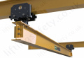 Manual Articulating Overhead Crane Trolley (Push/Pull) - Range from 250kg to 2000kg