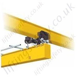 Electric Articulating Crane Trolley (crane kits) - Range from 250kg to 2000kg