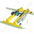 Powered Overhead Crane System - Range from 125kg to 100,000kg