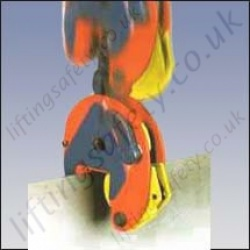 Crosby IPU10/A Vertical Plate Clamps - 1000kg or 2000kg