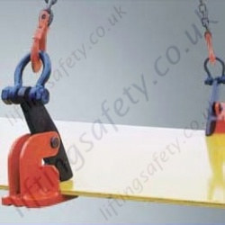 Crosby IPHTONZ IPHSZ Horizontal Plate Clamps - Range from 750kg to 12,000kg