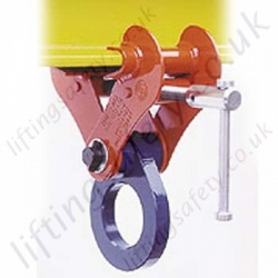 Crosby ITPK Screw Lock Beam Clamp - Range from 2000kg to 25000kg
