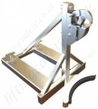Fork Lift Truck Tine Mounted Stainless Drum Handler. Rim Grip Attachment - Range from 750kg to 2250kg