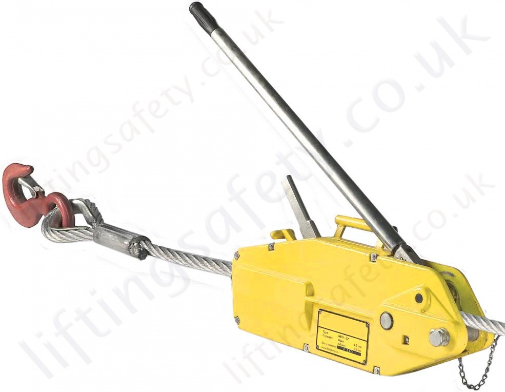 Liftingsafety Quot High Capacity Quot Cable Puller Wire Rope Hoist