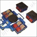 Economy Machinery Moving Skate sets - 8000kg, 16,000kg or 22,000kg