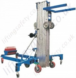 Genie SLK Superlift Advantage Counter Balanced Materials Lifter with Counter Weights Materials Lifter With Max Height of 7.9 metres and Max Capacity 300kg (4 Options)