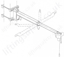 MBB Wall Mounted Swing Jib Crane