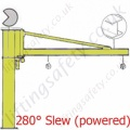 Donati CBE OB 'I' profile Over Braced Power Slew Jib - upto 2000kg SWL