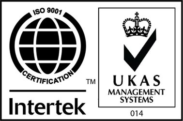 Intertek ISO 9001 Certified